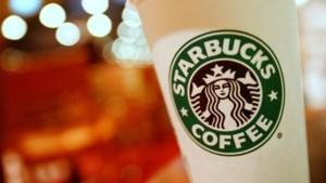 Starbucks krijgt last van concurrentie