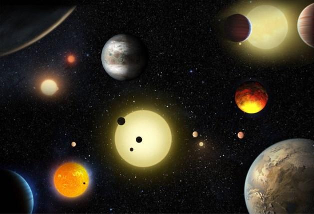 Astronomen ontdekken 1.284 nieuwe planeten
