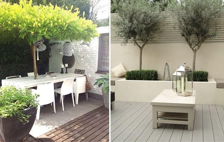 Met deze tips maak je van een klein terras een gezellig tuintje