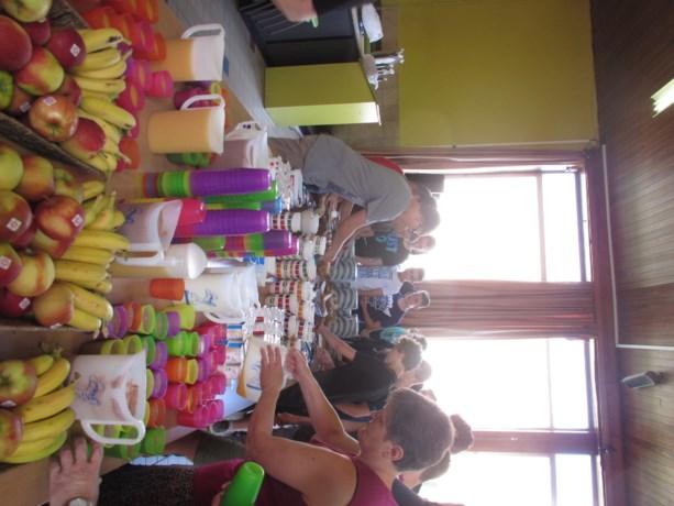 Ouderraad verzorgt een heerlijk ontbijt voor de leerlingen van Biotechnicum
