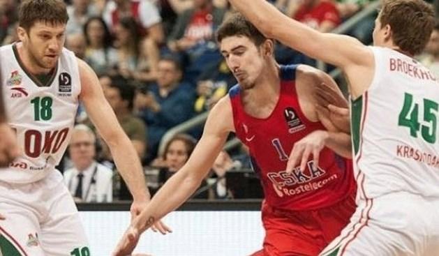 CSKA Moskou is eerste finalist in Euroleague