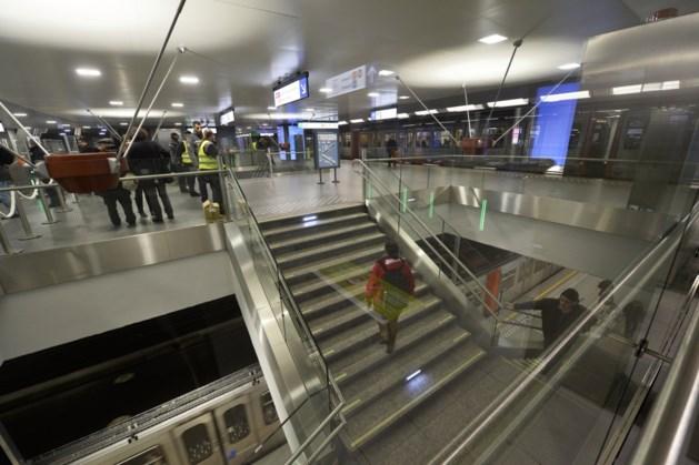 Alle toegangen weer open in Brusselse metrostations