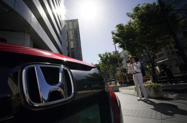 Honda roept miljoenen extra auto's terug om airbags