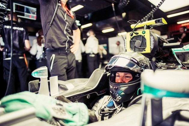 Nico Rosberg snelste tijdens tweede oefensessie GP van Spanje