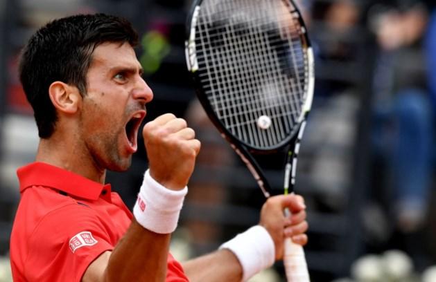 Djokovic is te sterk voor Nadal in kwartfinales Rome