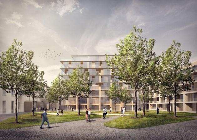 Flats en universiteit in Hasselts vluchthuis van de nonnen
