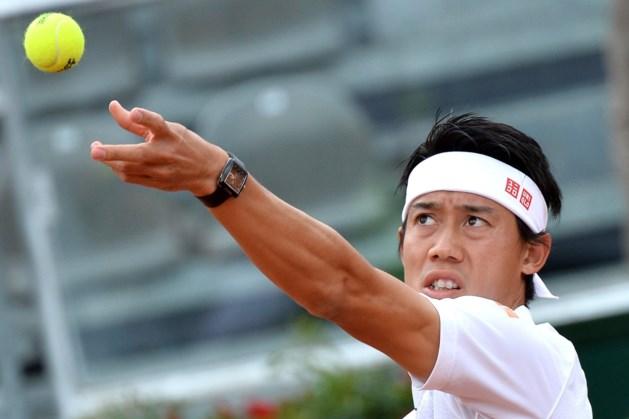 Kei Nishikori bereikt laatste vier in Rome