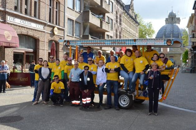 VV Goldenstar scoort wereldrecord op Fun-Bike