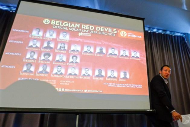 Deze Rode Duivels verzamelen donderdag in Knokke