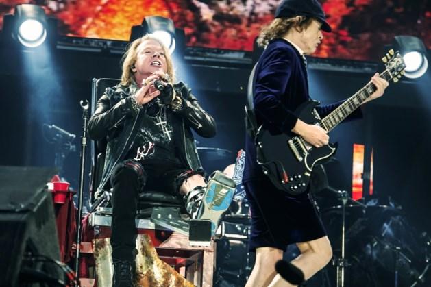 54 mensen betrapt met drugs tijdens concert AC/DC