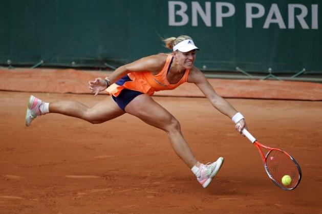 Angelique Kerber is net op tijd hersteld voor Roland Garros