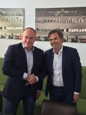 """Fred Vanderbiest tekent bij Antwerp: """"Beter doen dan vorig seizoen"""""""