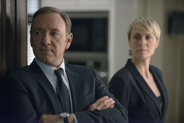 'House of Cards'-ster Robin Wright eist hetzelfde loon als collega Kevin Spacey