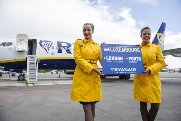Ryanair maakt debuut in Luxemburg
