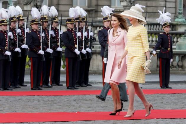 Daarom wandelt koningin Rania zo traag