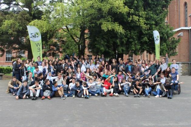Leerlingen Bokrijk organiseren spelnamiddag voor jonge vluchtelingen