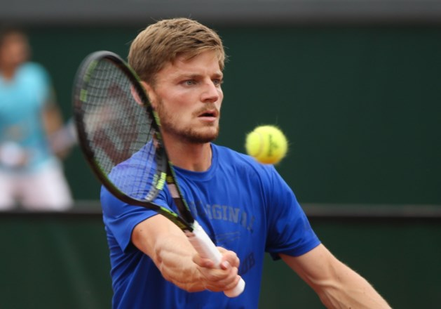David Goffin speelt maandag achtste finale Roland Garros om 11u