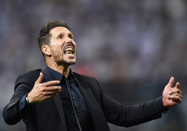"""Verlaat Simeone Atlético Madrid? """"Nu ga ik vooral nadenken"""""""
