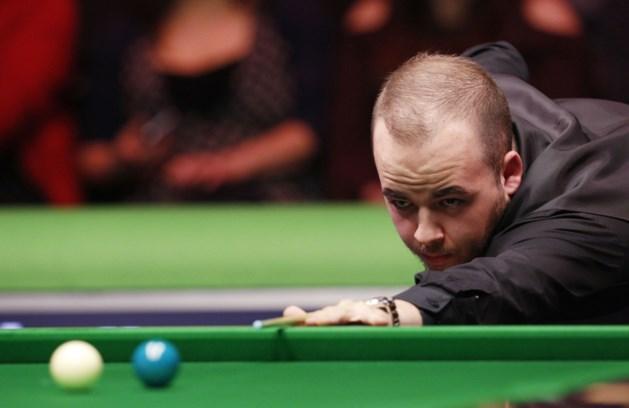 Luca Brecel plaatst zich voor eindfase op World Open snooker