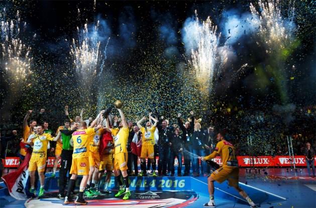 Kielce wint Champions League handbal na zenuwslopende finale