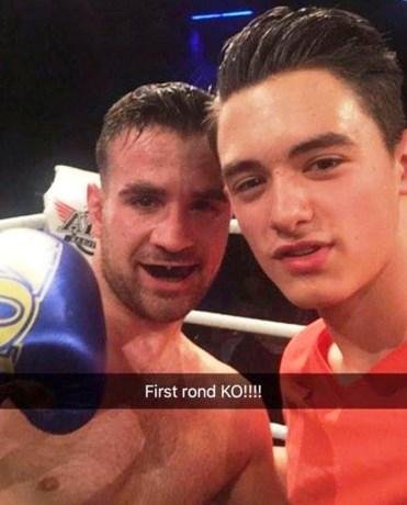 Baris Karabas wint kwartfinale tijdens A1 World Combat in Nederland