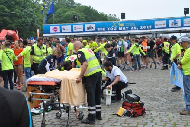 Loper krijgt hartaanval aan finish '20 kilometer van Brussel'