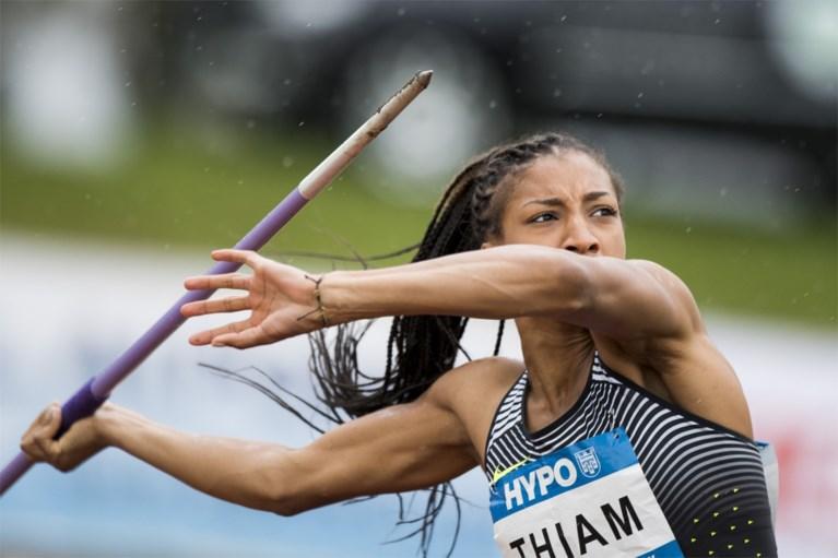 Thiam doet vertrouwen op voor Rio met knappe prestatie in Götzis