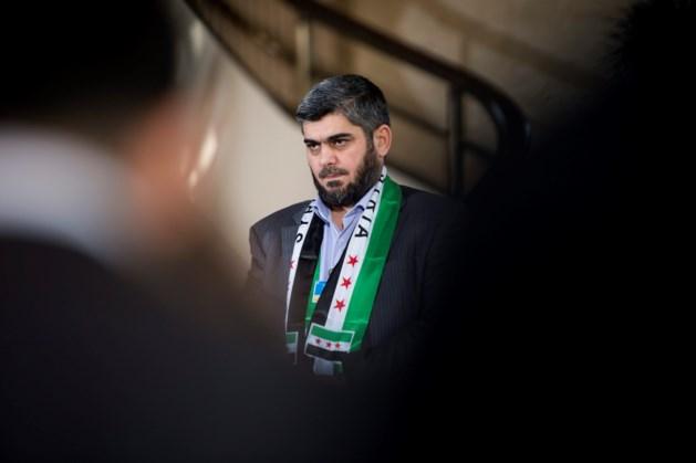 Hoofdonderhandelaar voor oppositie bij vredesgesprekken in Syrië neemt ontslag