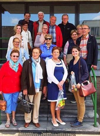 Vrije Vrouwen naar veiling Belorta in Borgloon