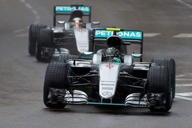 """Rosberg: """"Pijnlijk om Hamilton te moeten laten passeren"""""""