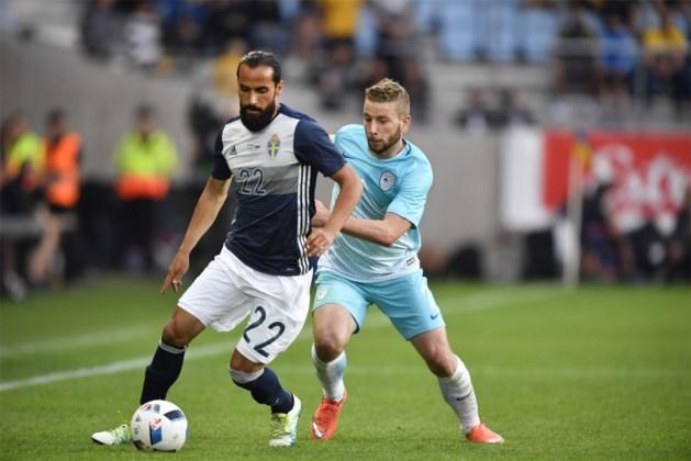 EK-tegenstander Zweden raakt zonder Zlatan niet voorbij Slovenië