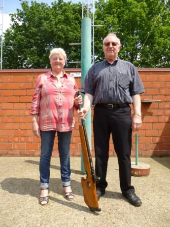 Lena en Armand kapen titels weg tijdens koningsschieten in Meldert