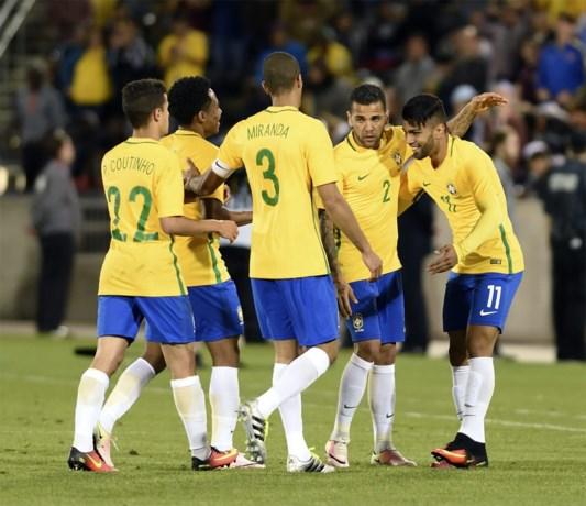 Brazilië wint laatste test voor Copa America