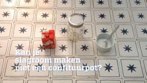 GETEST. Kan je slagroom maken in een confituurpot?
