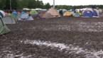 Camping Graspop getransformeerd in modderbad