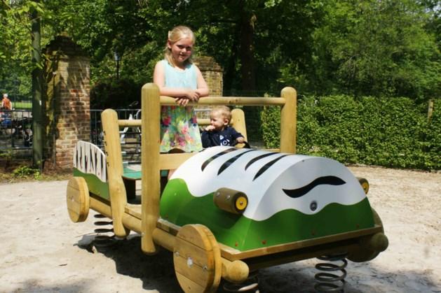 Nieuwe speeltuin Olmenhof in natuurlijke materialen