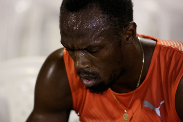 Alarmfase rood voor Usain Bolt: spierscheur op 6 weken voor Olympische Spelen