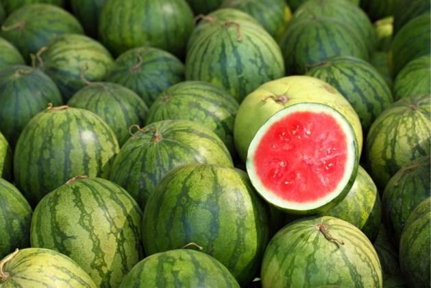 Zo pik je er altijd een rijpe watermeloen uit
