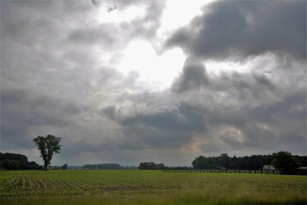Kans op felle buien en onweer