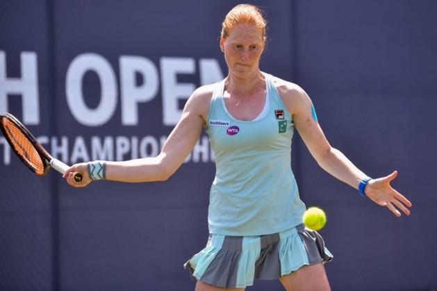 Alison Van Uytvanck bereikt tweede ronde in Stockton