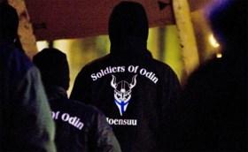 Nederlandse 'Soldiers of Odin' jagen op asielzoekers die zich misdragen