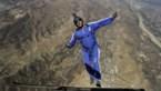 "Skydiver springt van 7.600 meter hoogte zonder parachute in net: ""Fantastisch"""