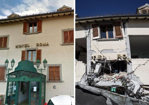 """""""Tempel van de lokale keuken"""" verwoest door aardbeving"""