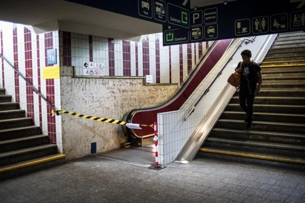 """Roltrap station Hasselt nog steeds buiten dienst: """"Ander onderdeel kapot"""""""