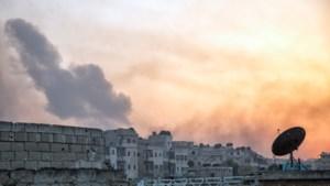 Granaat treft VN-burelen in Aleppo