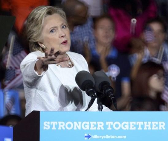 """""""Clinton wordt anders behandeld omdat ze een vrouw is"""""""