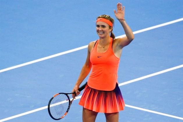 Ook Svitolina naar halve finales op WTA Elite Trophy
