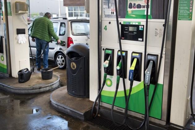 Benzine, diesel en stookolie vrijdag goedkoper