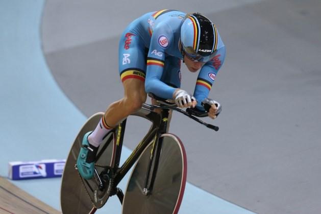 Robbe Ghys wint scratch op wereldbeker in Glasgow