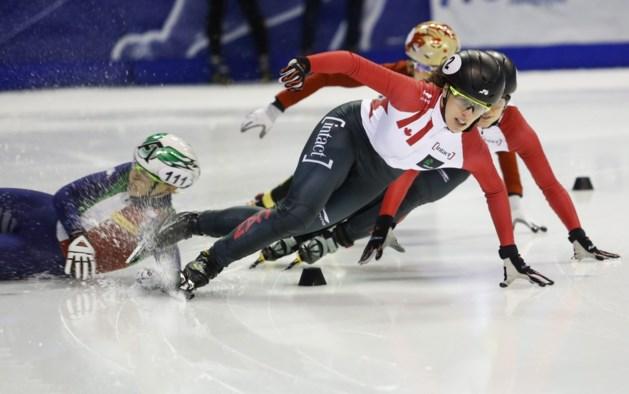 Geen finale, wel record voor Belgische shorttrackers in Calgary